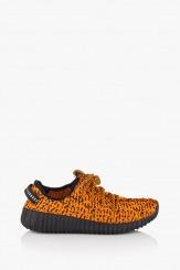 Спортни дамски обувки Нори в оранжево