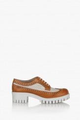Дамски обувки с връзки Алесандриа айс