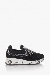 Спортни дамски обувки в черен цвят Белла