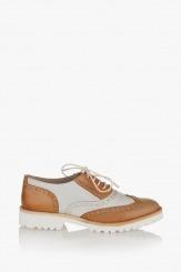 Дамски обувки в цветова комбинация Лиса