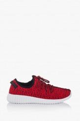 Червени мъжки спортни обувки Норт