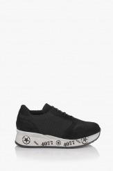 Дамски спортни обувки Ивет в черно