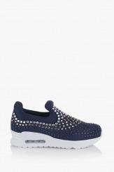 Тъмно сини дамски спортни обувки Белла
