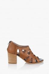 Дамски сандали Бриджит карамел