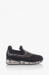 Дамски спортни обувки в черно Белла