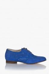 Сини дамски обувки Медисън