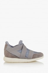 Сиви мъжки спортни обувки Доменико