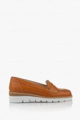 Дамски ежедневни обувки Колет карамел