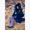 Дамски зимен ботуш Лоретта бордо