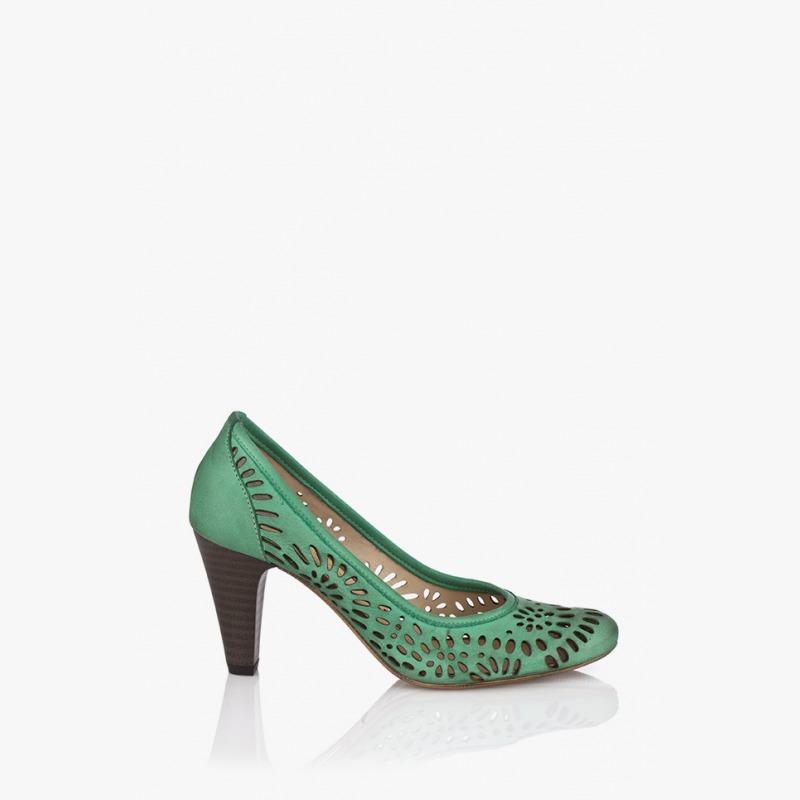 Дамски обувки Алис в зелено