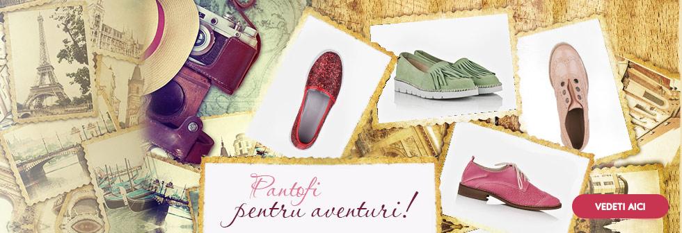Pantofi pentru aventuri!