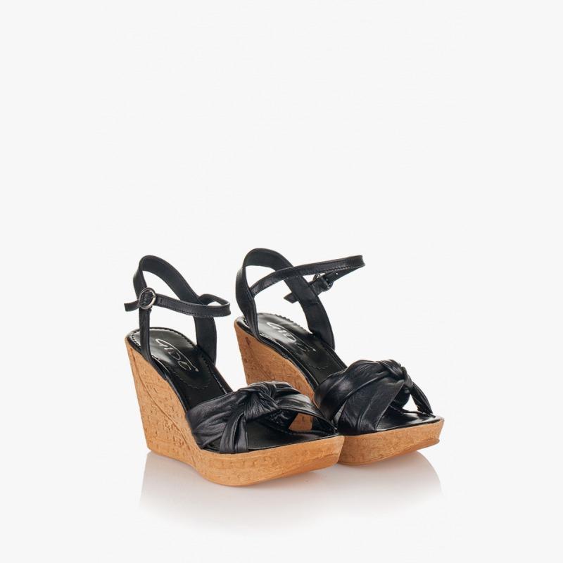 Дамски сандали на платформа Теди