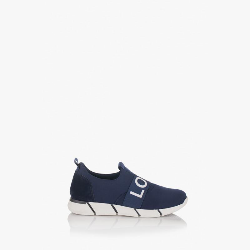 Сини дамски спортни обувки Лил