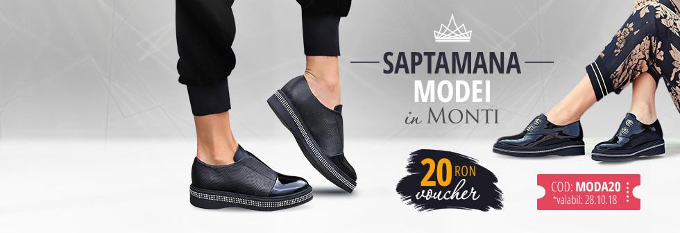 Saptamana modei in Monti