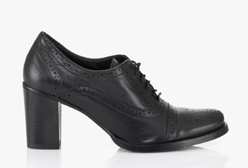 Дамски кожени обувки Париж